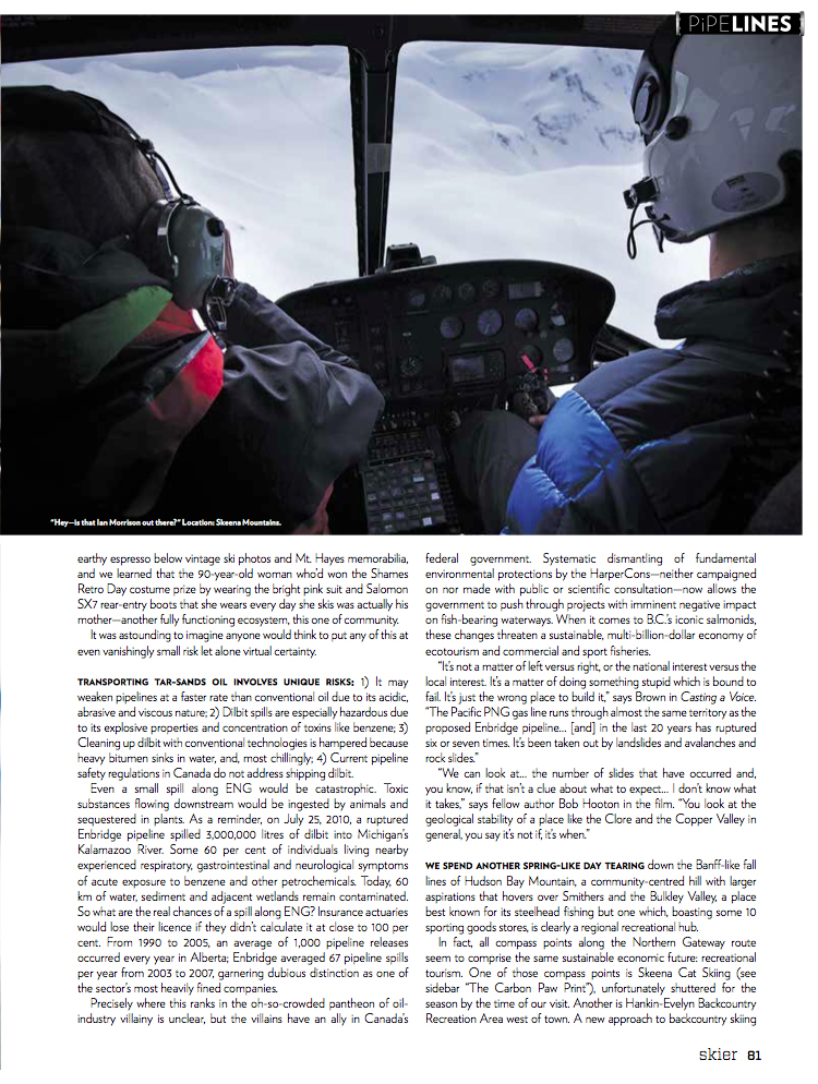 2013 Skier - Voices in the Wilderness page 12