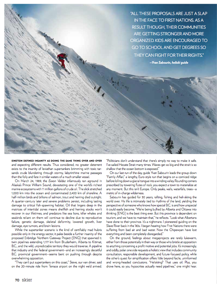 2013 Skier - Voices in the Wilderness page 2
