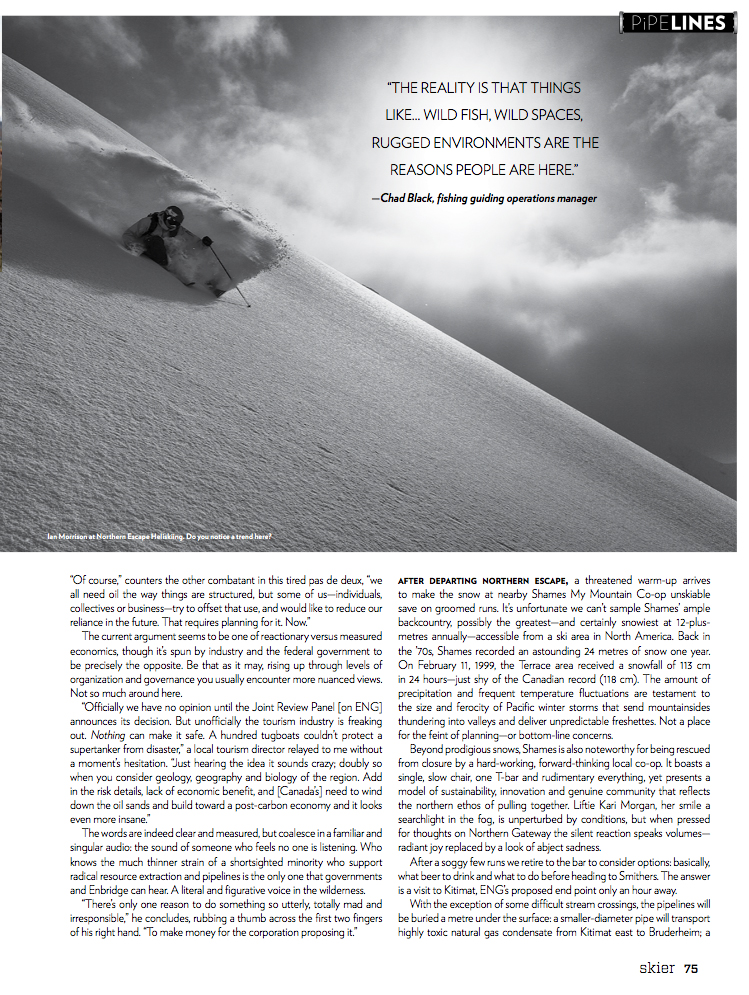 2013 Skier - Voices in the Wilderness page 7
