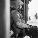 Chad Sayers update- sitting on a bench in Chamonix ready to ski some steeps
