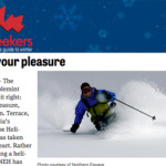 2013 Snowseekers- double your pleasure article preview