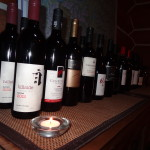 A selection of fine wines available at NEH