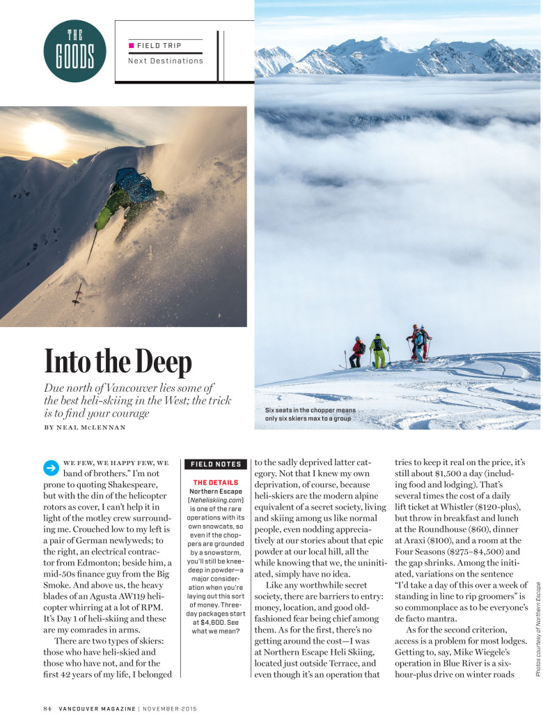 2015-Vancouver-Magazine-page-1 Into the Deep