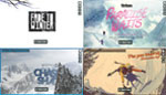 Thumbnails of 4 Ski/Snowboard Movies