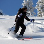Oldest Female Skier