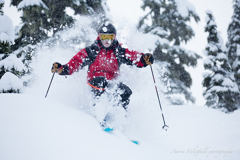 Deep Powder Skiing Tips How To Ski Powder Snow