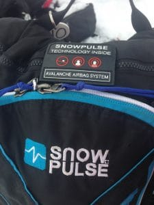 Snowpulse Avalanche Airbag Backpack System