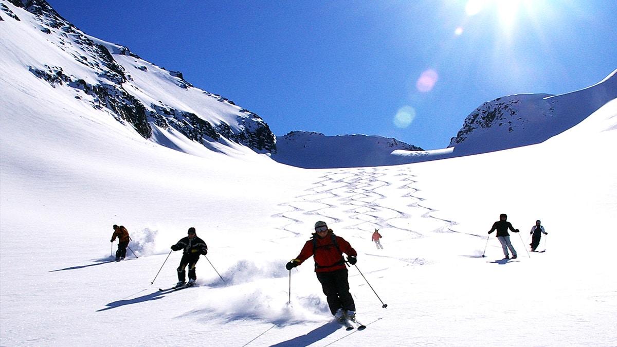 Small Group Heli-skiing