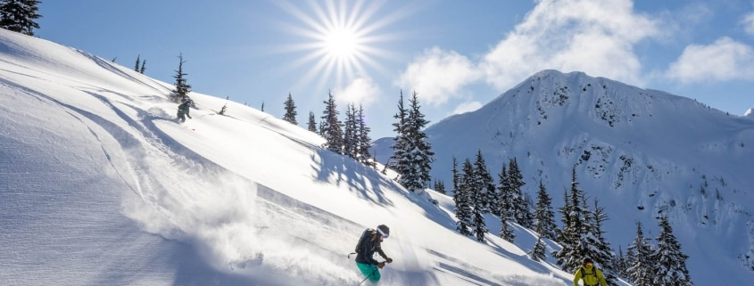 family snowcat skiing