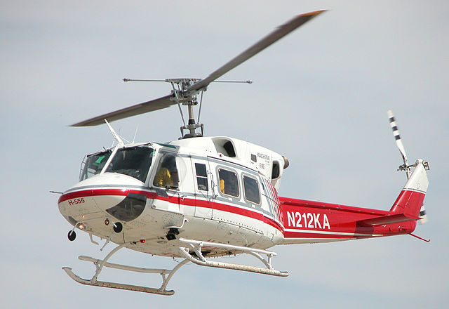 Bell 212 helicopter