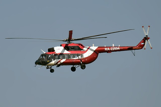 Mi 8 helicopter