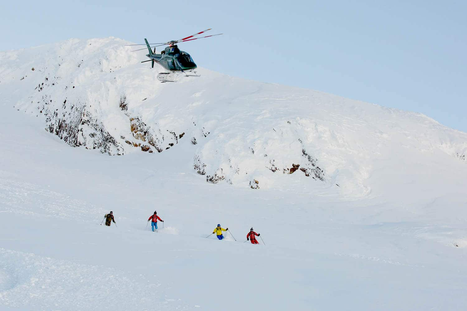 Heli skiing in Terrace BC