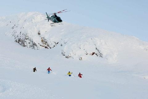 Heli Skiing Helicopters