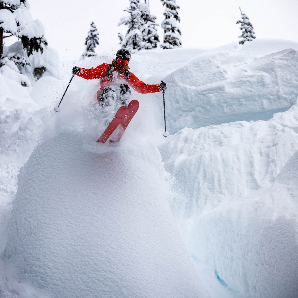 heli skier, Terrace BC